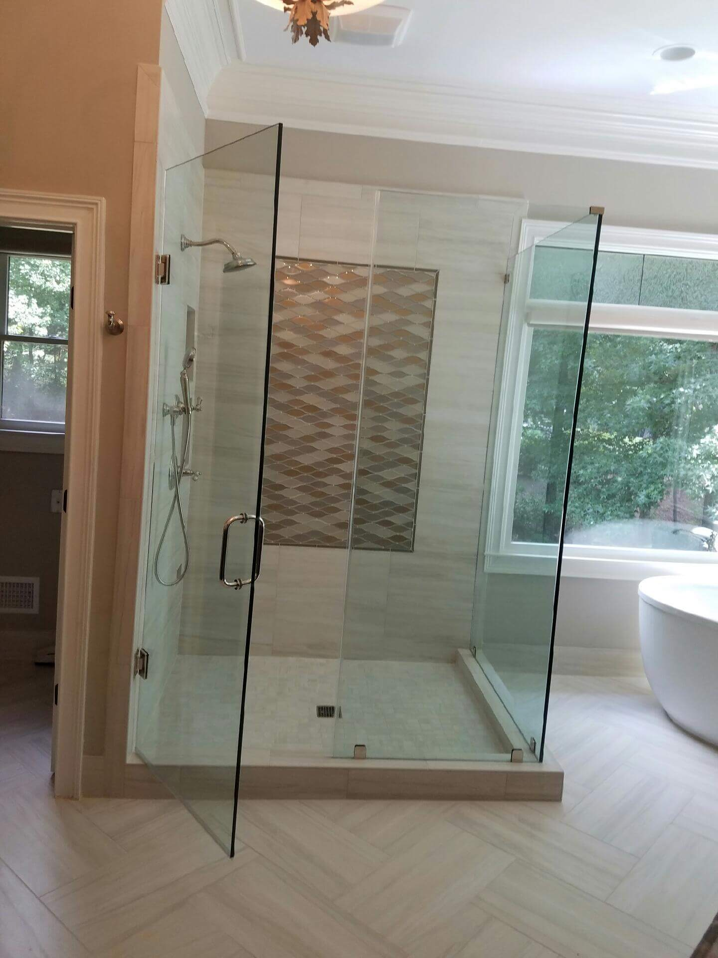 Chc Glass Mirror Shower Enclosures Atlanta Ga
