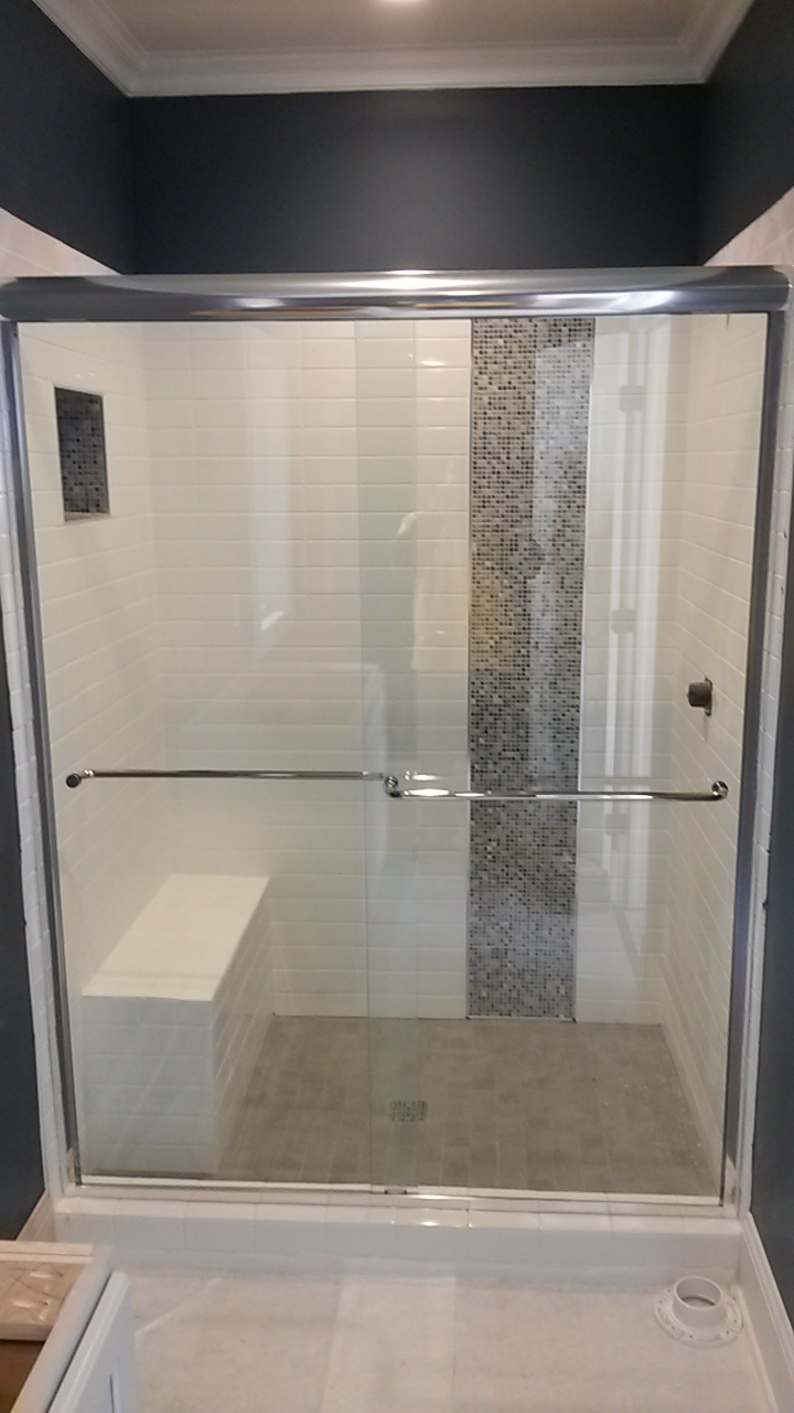Sliding Shower Doors - CHC Glass & Mirror Atlanta Ga