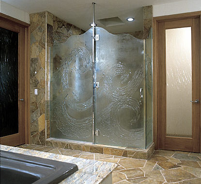 Choosing A Glass Shower Door Over Curtain