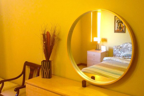 Just As Eyes Are a Reflection Of One's Soul, Mirrors Are a Reflection Of One's Home