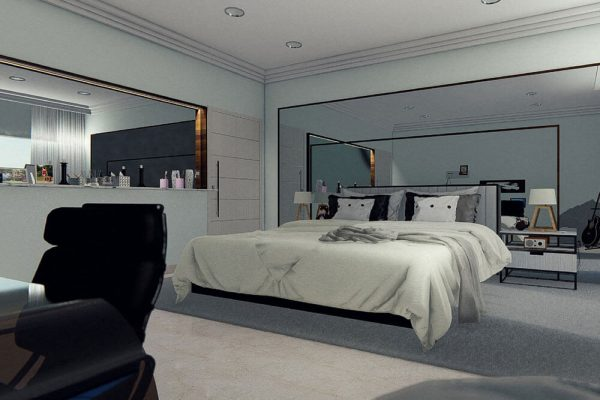 Large Wall Mirrors Offer Many Advantages For A Living Space