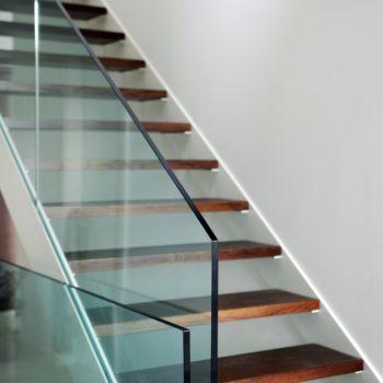 glass handrail atlanta