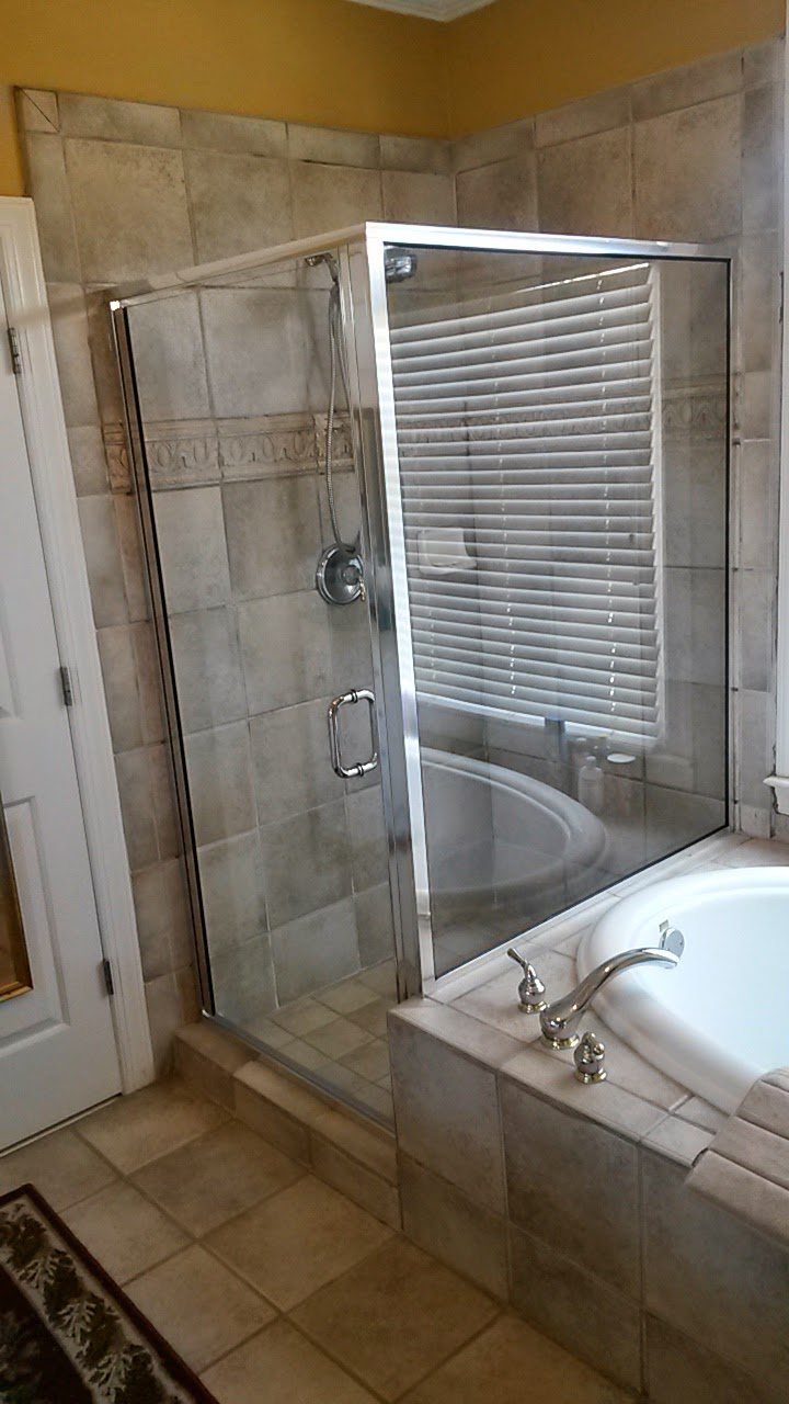 Framed Shower Doors • CHC Glass