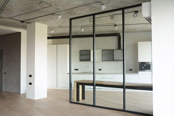 Install A Glass Wall To Enhance Your Home