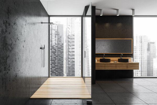 5 Benefits of Glass Shower Doors