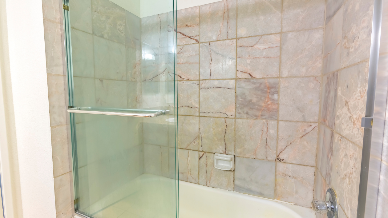 Replace your shower curtains